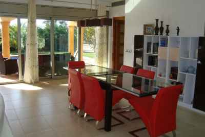 Specious house with nearby golf course, on Coast of Spain